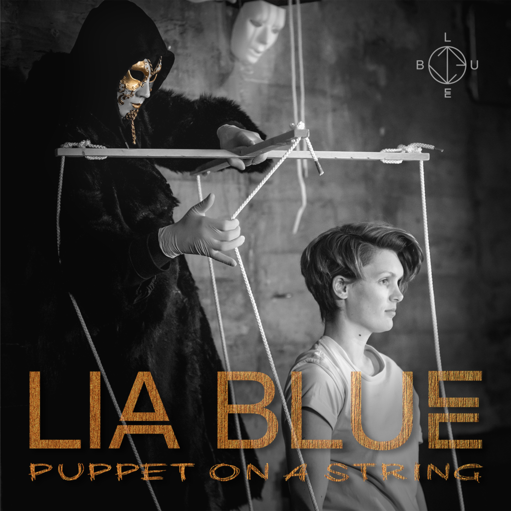 LIA BLUE Puppet on a String Cover