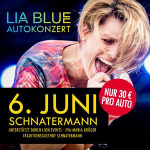 LIA BLUE Autokonzert – 06. Juni 2020 – Schnatermann